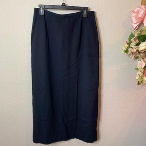 Evan-Picone 100% Pure Wool Dress Skirt